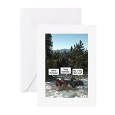 Merry Poopmas Greeting Cards
