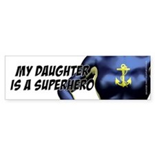 USN Super Daughter - Bumper Sticker