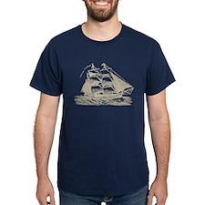 Vintage Sail Ship T-Shirt