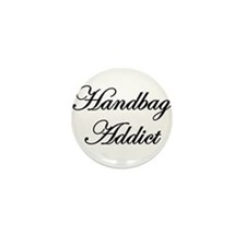 Cute Handbag Mini Button (10 pack)