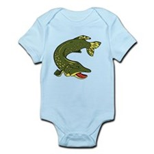Green Eel Infant Bodysuit