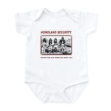 Native Homeland Security Infant Bodysuit