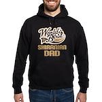 Shiranian Dog Dad Hoodie (dark)