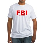 Full Blood Indian Fitted T-Shirt