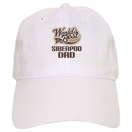 Siberpoo Dog Dad Cap