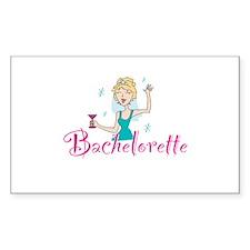 Bachelorette Rectangle Decal