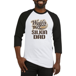 Silkin Dog Dad Baseball Jersey