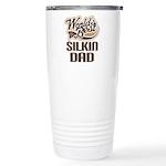 Silkin Dog Dad Ceramic Travel Mug