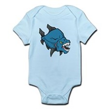 Prehistoric Fish Infant Bodysuit
