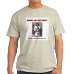 Homeland Security Geronimo Ash Grey T-Shirt