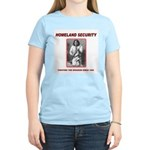 Homeland Security Geronimo Women's Pink T-Shirt