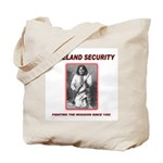 Homeland Security Geronimo Tote Bag