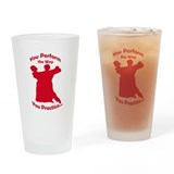 Ballroom Dance Drinking Glass