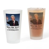 Cute Clinton Drinking Glass