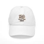 Silky Pug Dog Dad Cap