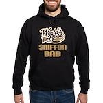 Sniffon Dog Dad Hoodie (dark)