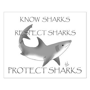 Shark Small Poster