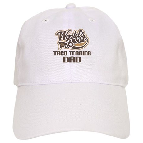 Taco Terrier Dog Dad Cap