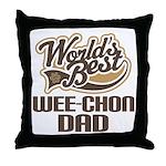 Wee-Chon Dog Dad Throw Pillow