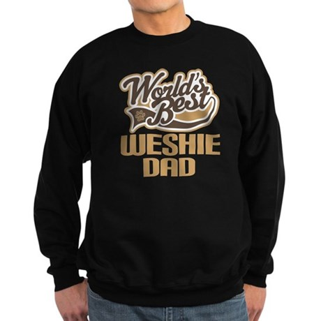 Weshie Dog Dad Sweatshirt (dark)