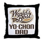 Yo-Chon Dog Dad Throw Pillow