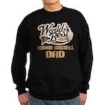 Yorkie Russell Dog Dad Sweatshirt (dark)