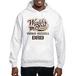 Yorkie Russell Dog Dad Hooded Sweatshirt
