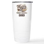 Yorkie Russell Dog Dad Ceramic Travel Mug