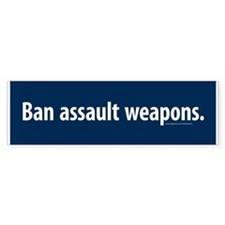 Ban assault weapons Bumper Sticker (50 pk)
