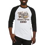 Yorkie-Apso Dog Dad Baseball Jersey