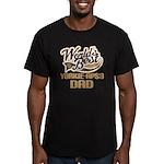 Yorkie-Apso Dog Dad Men's Fitted T-Shirt (dark)