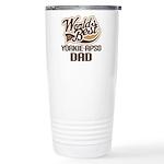 Yorkie-Apso Dog Dad Ceramic Travel Mug