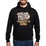 Yorkinese Dog Dad Hoodie (dark)
