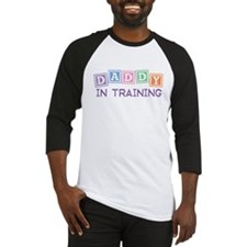 Daddy In Training Baseball Jersey