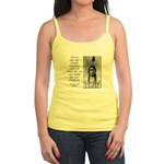Sitting Bull Quote Jr. Spaghetti Tank