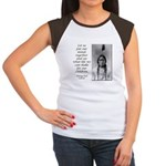 Sitting Bull Quote Women's Cap Sleeve T-Shirt