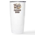 Zuchon Dog Dad Ceramic Travel Mug