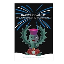 Hogmanay.2 Postcards (Package of 8)