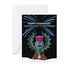 Hogmanay.2 Greeting Cards (Pk of 20)