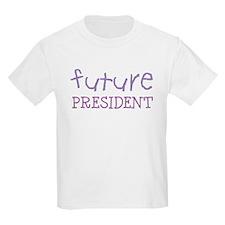 Future President Kids T-Shirt