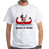 Queen of Denial Shirt (Child - Adult 4X)