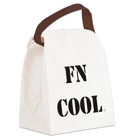 fncool stencil.png Canvas Lunch Bag