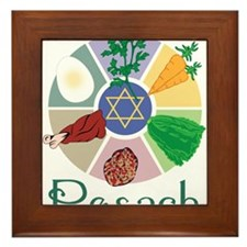 Pesach Framed Tile