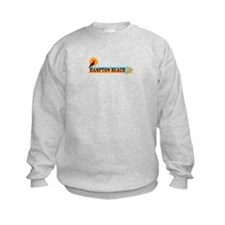 Hampton Beach NH - Beach Design. Sweatshirt