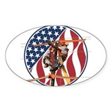 USA Lineman Decal