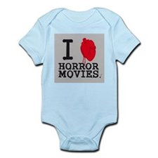 I <3 Horror Movies Infant Bodysuit