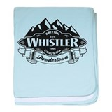 Whistler Mountain Emblem baby blanket
