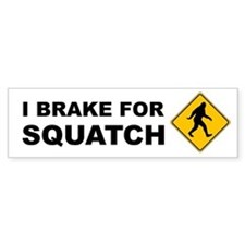 Bigfoot Bumper Sticker