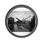 Cambridge Black & White Collection Wall Clock