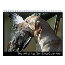 The Art of the Gun Dog Wall Calendar